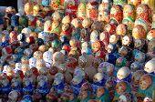 Ornamentcolourful Wooden Dolls