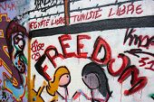 Freedom graffiti