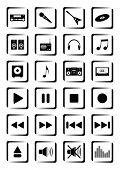 Musical buttons