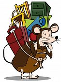 pic of pack-rat  - Pack Rat - JPG