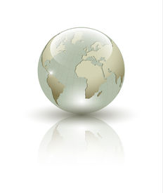 picture of world-globe  - Abstract Earth globe composition - JPG