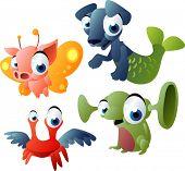 2010 monsters set