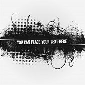 Vector Grunge banner