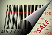 Código de barras e venda