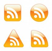 Conjunto de iconos RSS Feed