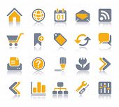 VECTOR Internet / Web Icon set | Veeta series