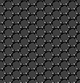 Seamless carbon molecular lattice background - vector pattern for continuous replicate. See more seamlessly backgrounds in my portfolio.