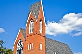 Brick Steeple Architecture