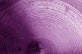 Metal Surface With Scratches In Purple Tone. Abstract Background And Texture For Design. poster