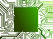 picture of computer technology  - Electronic circuit in vector - JPG