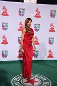 LOS ANGELES - NOV 10:  Lili Estefan arrives at the 12th Annual Latin GRAMMY Awards at Mandalay Bay o