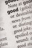Dictionary Series - Philosophy: Good