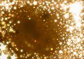 Xmas Gold Background