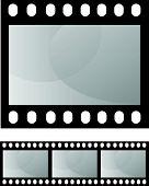 photo film frame seamless template