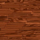 Warm Brown Parquet Flooring