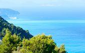 Lefkada Coast  View (greece)