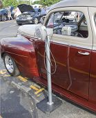 1941 Plymouth Classic Car Drive In Speaker