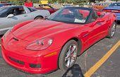2012 Corvette Red
