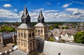 View On Maastricht From The Top Of Sint-janskerk