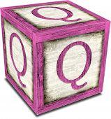 Alpha Block Q Pink