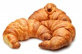 Isolated Croissants