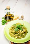 Linguine Al Pesto