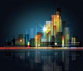 Skyline cidade moderna