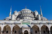 Mezquita de Sultanahmet azul