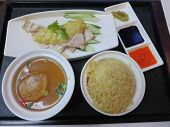 Delicious Singaporean Chicken Rice