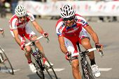 BARCELONA - MARCH, 24: Giampaolo Caruso of Katusha Team during the Tour of Catalonia cycling race th