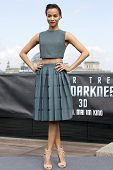 BERLIN - APR 28: Zoe Saldana at the Star Trek - Into Darkness Photo Call on April 28, 2013 in Berlin, Germany