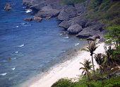 Tropical Beach In Southern Taiwan