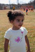 Toddler Girl Outside