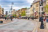 Trakt Krolewski Street View, Warsaw