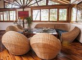 Living Room In Bamboo