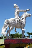 Statue of Sultan Hasanuddin Makassar