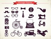 stock photo of old vintage typewriter  - vintage hipster objects collection - JPG