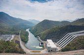 Powerhouse Srinakarin presa