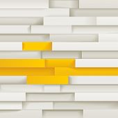 White and yellow abstract background, eps10 vector