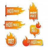 Hot Price Sales Labels