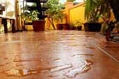 Wet Patio