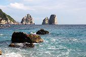 The Faraglioni Rocks, Capri