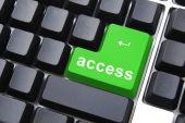 Green Access Button