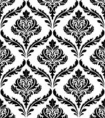pic of brocade  - Seamless damask pattern for background or wallpaper design - JPG
