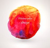 Abstract aquarelle background. Grunge background. Vintage paper texture. Watercolor vector backgroun