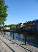 Riverside In Uppsala