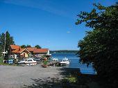 Harbour In Vaxholm