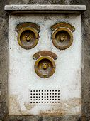 Vintage Brass Intercom