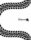Black And White Transportation Background, Vector Illustration, Eps10