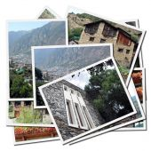 Collection Of Photographs Of Andorra In Europe poster